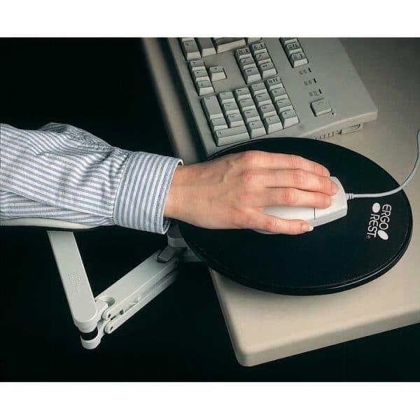 kyynärvarsituki Kotimainen Ergorest-kyynärvarsituki tuo välittömän avun käsiä, niskaa ja selkää kuormittavaan työhön.