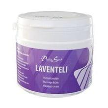 Laventelivoide sopii kuivan ja karvaisen ihon hierontaan. Paksu, eteeristä laventeliöljyä sisältävä hierontavoide.