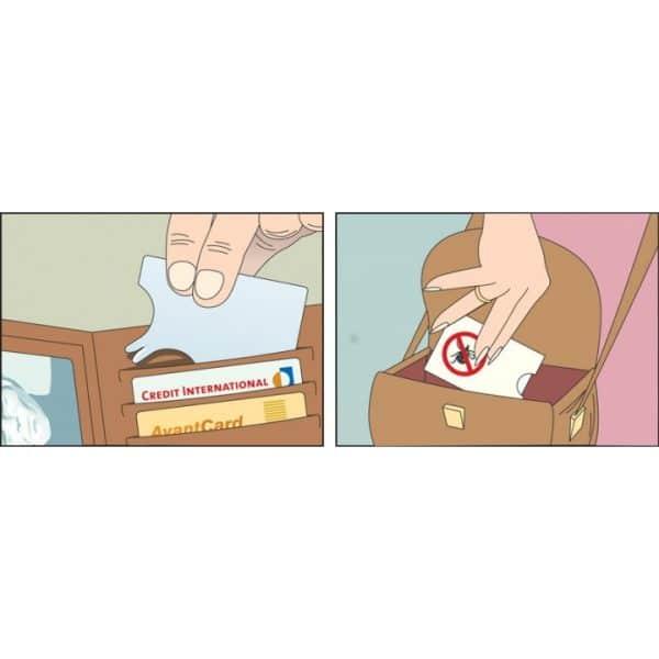 Patentoitu SafeCard-kortti on kehitetty yhteistyössä punkkeihin erikoistuneiden asiantuntijoiden kanssa. Kortti on muotoiltu siten, että sitä voi käyttää kaikkiin kehonosiin. Punkkien poistamisen helpottamiseksi SafeCardissa on suurennuslasi sekä pienempi hahlo, joka sopii nymfien, suurimman tartuttajaryhmän, poistoon. SafeCard viedään punkin alle ja kortin annetaan liukua rauhallisesti eteenpäin, ilman kääntämistä tai repimistä.