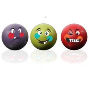 Stressipallot kolme eri vahvuista pehmeäpintaista palloa.
