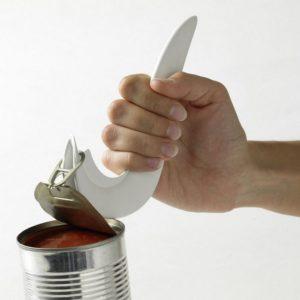 cankey on erinomainen apu esimerkiksi hernekeitto tai tonnikalapurkin avaamiseen