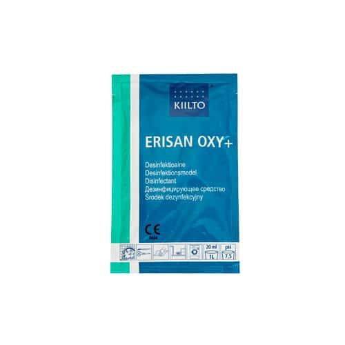 Erisan Oxy on tehokas vetyperoksidipohjainen puhdistusaine pinnoille ja välineille.