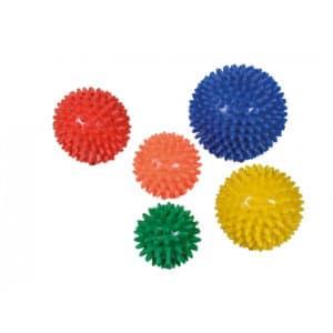 Hierontapallo Siili, nystyräpallo avuksi jumppaan ja hierontaan.