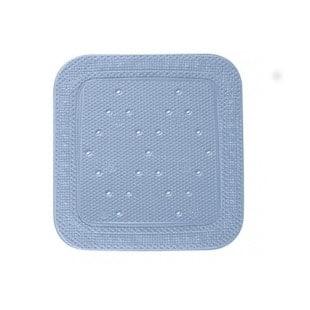 Liukuestematto Vesihiisi on imukupeilla kiinnittyvä matto märkätiloihin. 55 x 55 cm. Maton kuvioitu pinta parantaa pitoa vaikka lattialla olisi saippuavettä.
