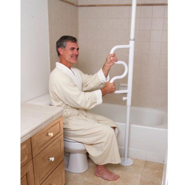 Nousutanko wc pöntön vieressä