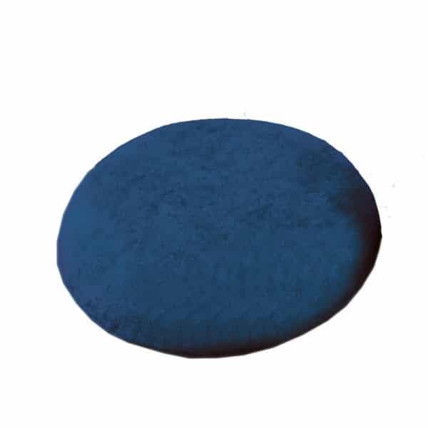 Rengastyyny, viskoelastinen, lämpömuovautuva, sininen, helpottaa istumista kirurgisten toimenpiteiden jälkeen.