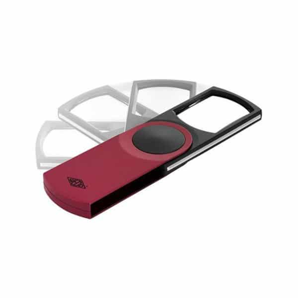 Suurennuslasi Swing-It kääntyvä malli led-valolla ja kolminkertainen suurennus.