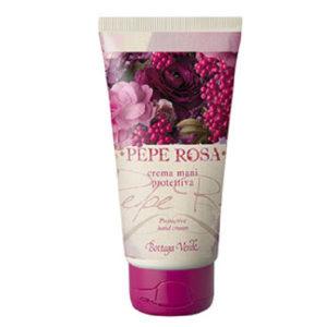 Käsivoide rosepippurin ja vaniljan tuoksuinen, erittäin hoitava