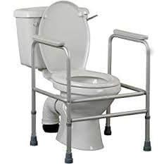 Wc-istuimen ympärillelaitettava kehikko, jolloin vessanpöntölle istuminen ja nouseminen on helpompaa.