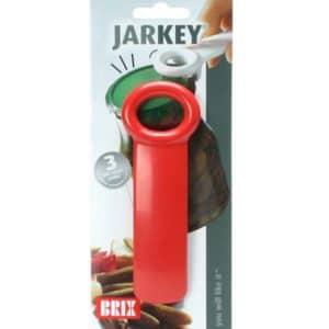 Purkinavaaja JarKey on oiva apuväline oikeastaan joka kotiin. Käytä purkinavaajaa esimerkiksi kaikenlaisten kierrekantisten lasipurkkien, kuten hillo-, kurkku- tai TexMex-purkkien, avaamiseen, Jarkey purkinavaajan avulla poistetaan purkista alipaine. Tämän jälkeen kansi on helppo kiertää auki. Tunnetaan myös nimillä sihauttaja ja ilmaaja Käyttöohje: Aseta JarKey purkinavaajan kynsi kannen reunan alle. Nosta avaajan vartta varovasti ylöspäin, kunnes kannen keskikohta poksahtaa ylös. Nyt paine purkissa on tasaantunut ja kansi avautuu helposti.