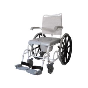 suihkupyörätuoli helpottaa suihkussa ja wc:ssä asiointia