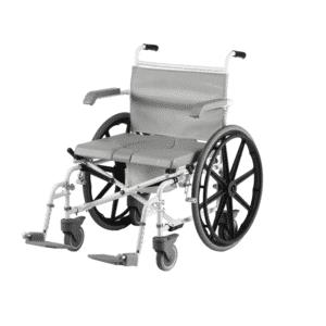 suihkupyörätuoli suurikokoiselle käyttäjälle helpottaa suihkussa ja wc:ssä asiointia