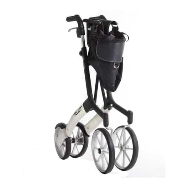 Rollaattori kävelyteline Let's Go Out on suunniteltu erityisesti ulkokäyttöön, mutta keveytensä, ketteryytensä ja pienen kokonsa ansiosta se sopii erinomaisesti käytettäväksi myös sisätiloissa.. Helposti kokoontaitettuna, väri musta.