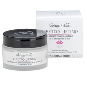 yövoide lifting effect bottega verde kuivalle iholle