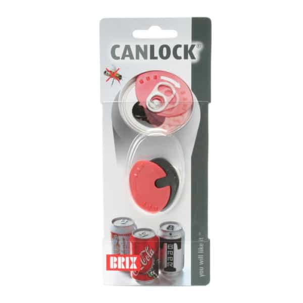 Minikansi olut- ja juomatölkeille Canlock pitää ampiaiset pois jumatölkeistä. 3 kpl paketissa: punainen, valkoinen ja musta kansi