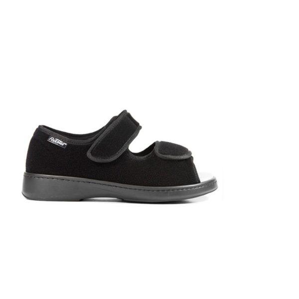 Seniorikenkä sandaali on hyvälestinen kenkä eläkeläisille