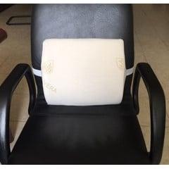 Tukityyny selälle Nordic Care ohjaa ristiselän oikeaan asentoon istuttaessa, selkä ei väsy ja kipeydy.