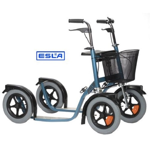 Esla Citymax 3800 potkupyörä on tukeva ja näppärästi kääntyvä potkupyörä