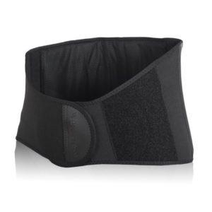 Selkävyö, jossa matala etuosa. Sopii hyvin paljon istuville, kehon lämpöä takaisin heijastavaa welltex-materiaalia.