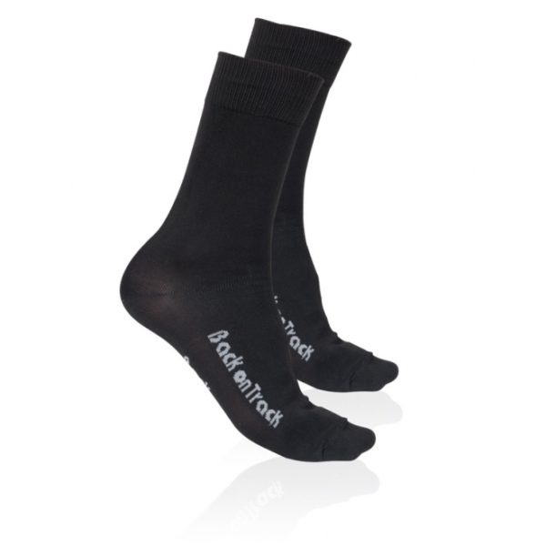 Sukat, nilkkamalli, Back on Track, kehon lämpöä takaisin heijastavaa neulosta, pitävät jalat lämpiminä.