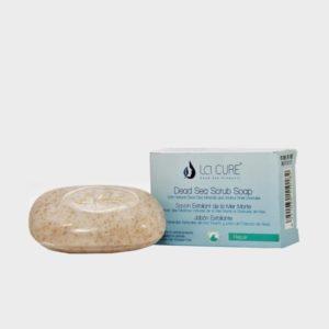 Kuorintasaippua La Cure Kuolleeneren suola tuotteet.