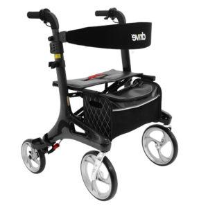 Rollaattori Nitro Twist hiilikuitu. Rollaattori Nitro Twist hiilikuitu on markkinoiden kevyin rollaattori hiilikuituisen rungon ansiosta. Paino vain 5,8 kg.