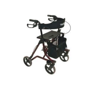 Rollaattori Torro. Rollaattori Torrolla kulkeminen käy mukavasti painavienkin ostosten kanssa. Kankaisen ostoslaukun kantavuus on peräti 5 kg.