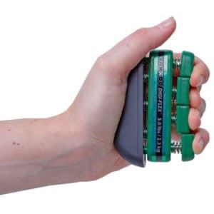Sormipuristin Digi-Flex sormien voimistamiseen sormi kerrallaan.